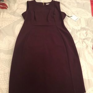 Calvin Klein purple dress